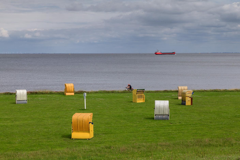 Cuxhaven, Deich