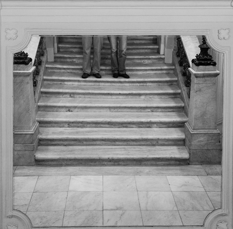 Autoportrait en pied