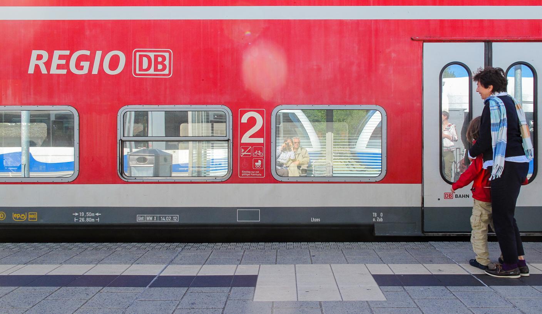 Auto-portrait en train