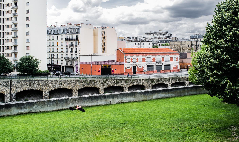 Sieste à la Villette