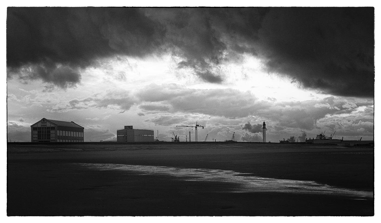 Dunkerque, plage & port